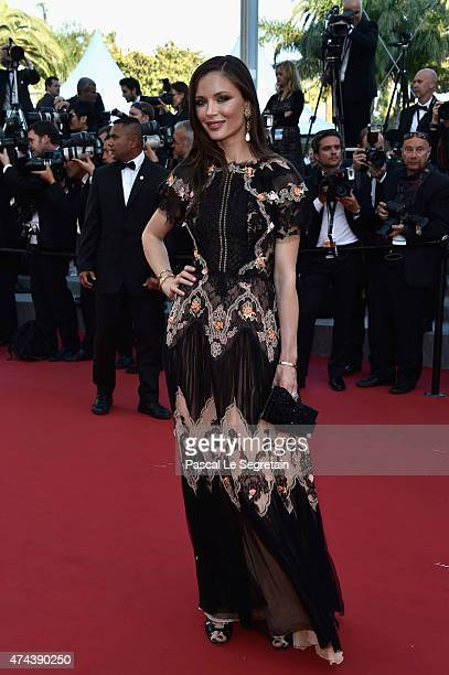 Designer Georgina Chapman attends the 'Little Prince' Premiere during the 68th annual Cannes Film Festival on May 22 2015 in Cannes France