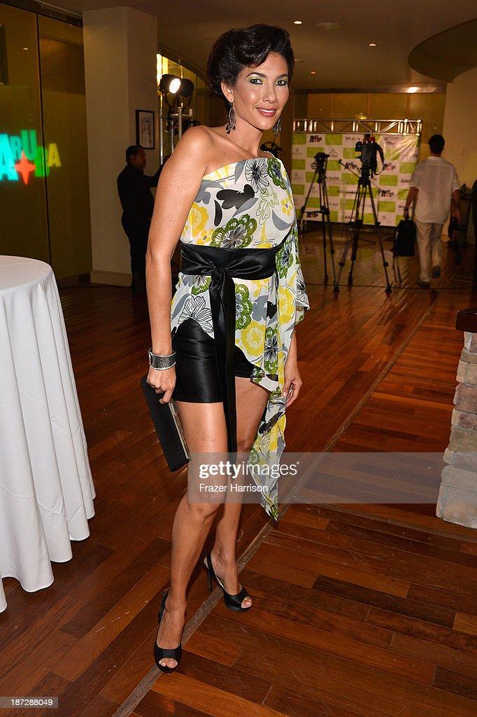 Designer Gigliola Gomez attends the Aruba In Style 2013 Kick-Off party at Westin Aruba Resort on November 7, 2013 in Aruba, Aruba.