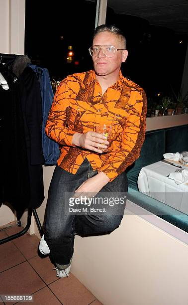 Designer Giles Deacon attends the Stylecom dinner celebrating London fashion hosted by editorinchief Dirk Standen at Shrimpy's in The Kings Cross...
