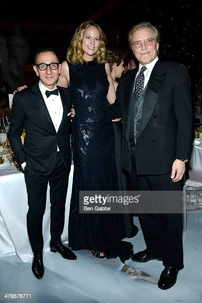 Designer Gilles Mendel and Peter Martins attend the School Of American Ballet's 2014 Winter Ball at David Koch Theatre at Lincoln Center on March 3,...