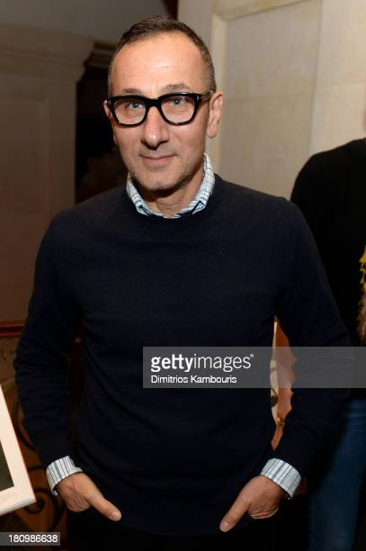 Designer Gilles Mendel attends ASSOULINE Martine and Prosper Assouline host a book signing for Ketty PucciSisti Maisonrouge's The Luxury Alchemist at...