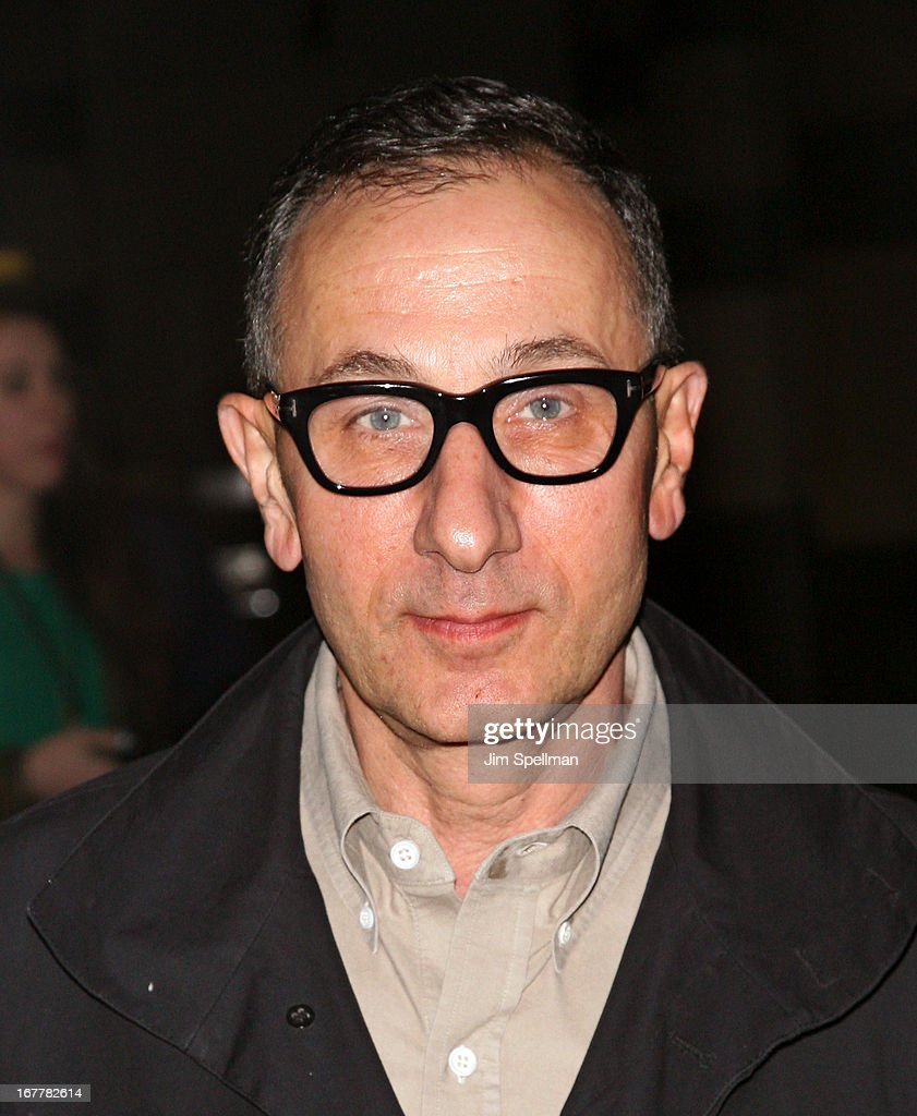 Designer Gilles Mendel attends the Cinema Society with Swarovski & Grey Goose premiere of eOne Entertainment's 'Scatter My Ashes At Bergdorf's' at Florence Gould Hall on April 29, 2013 in New York City.