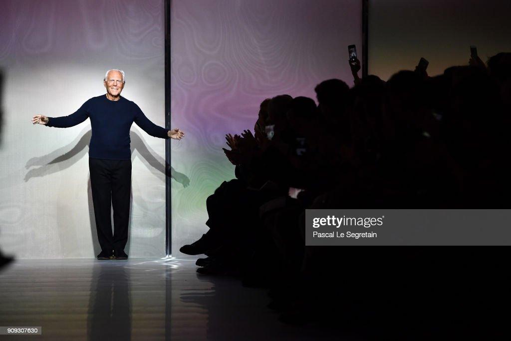Giorgio Armani Prive : Runway - Paris Fashion Week - Haute Couture Spring Summer 2018