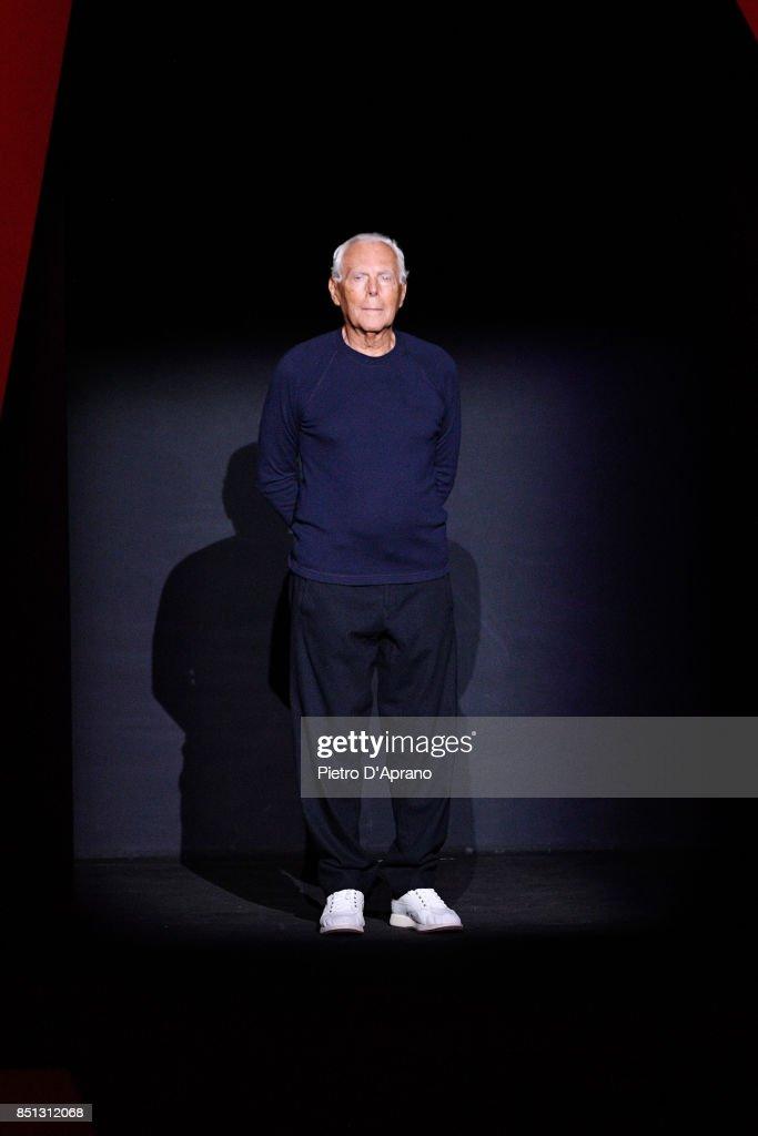 Giorgio Armani - Runway - Milan Fashion Week Spring/Summer 2018