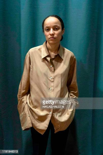 Designer Grace Wales Bonner poses for a photograph before the catwalk show for fashion brand Wales Bonner on the second day of the Autumn/Winter 2020...