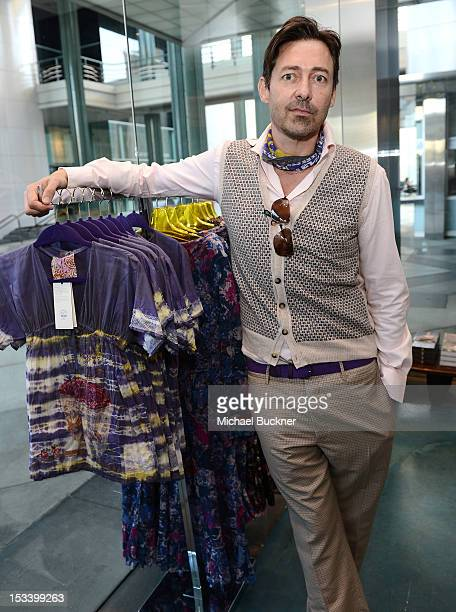Designer Gregory Parkinson attends the Director's Circle Celebration of WEAR LACMA Inaugural Designs by Johnson Hartig For Libertine And Gregory...