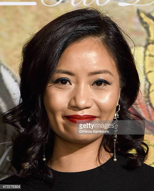 Designer Guo Pei attends the MAC x Guo Pei dinner on May 5 2015 in New York City