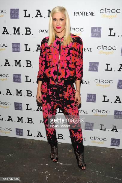 Designer Gwen Stefani attends the LAMB presentation during MercedesBenz Fashion Week Spring 2015 on September 5 2014 in New York City