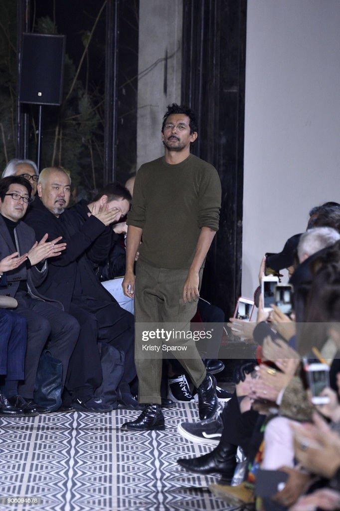 Haider Ackermann : Runway - Paris Fashion Week - Menswear F/W 2018-2019