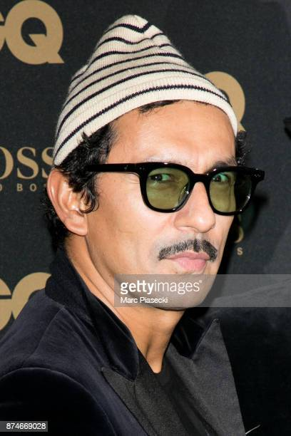 Designer Haider Ackermann attends the 'GQ Men of the year awards 2017' at Le Trianon on November 15 2017 in Paris France