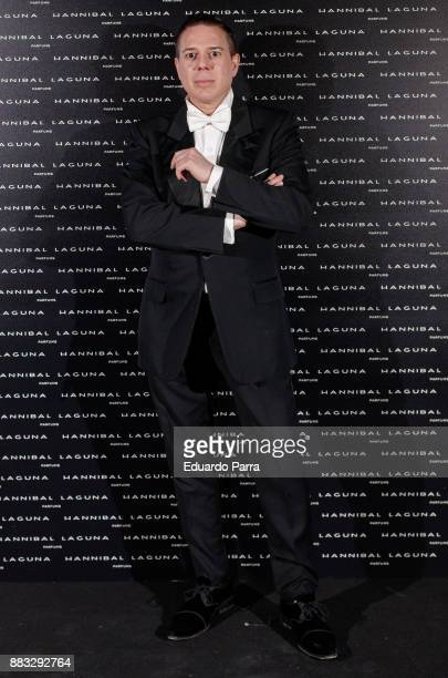 Designer Hannibal Laguna attends the Hannibal Laguna 30th anniversary Gala Dinner at the Santo Mauro hotel on November 30 2017 in Madrid Spain