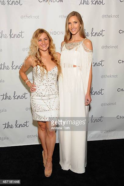 Designer Hayley Paige attends the 5th Anniversary Of The Knot Gala at New York Public Library on October 13 2014 in New York City