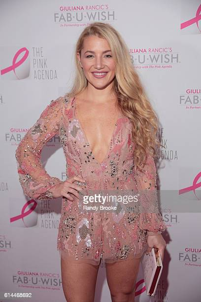 Designer Hayley Paige Wallis attends The Pink Agenda 2016 Gala arrivals at Three Sixty on October 13 2016 in New York City