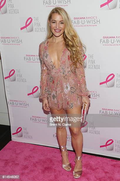 Designer Hayley Paige Wallis attends The Pink Agenda's 2016 Gala held at Three Sixty on October 13 2016 in New York City