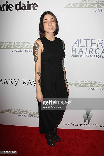 Designer Helen Castillo attends the Project Runway All Stars Season 3 premiere party presented by The Weinstein Company and Lifetime in partnership...