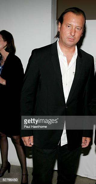 Designer Helmut Lang attends the International Center of Photography's 21st Annual Infinity Awards at Skylight Studios May 10 2005 in New York City
