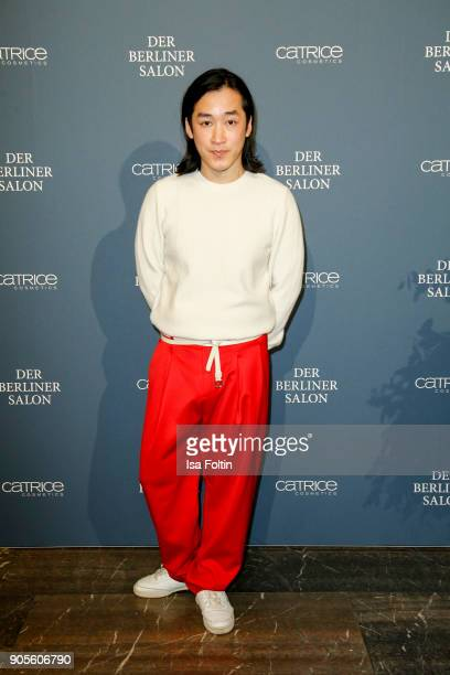 Designer Hien Le during the Group Presentation during 'Der Berliner Salon' AW 18/19 at Kronprinzenpalais on January 16 2018 in Berlin Germany