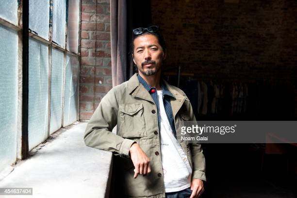 Designer Hiroki Nakamura attends the Visvim Presentation during MercedesBenz Fashion Week Spring 2015 at Industria Studios on September 4 2014 in New...
