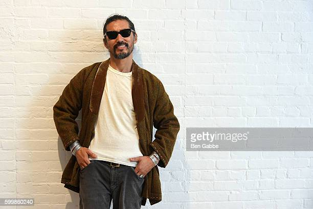 Designer Hiroki Nakamura attends the Visvim presentation on September 7 2016 in New York City