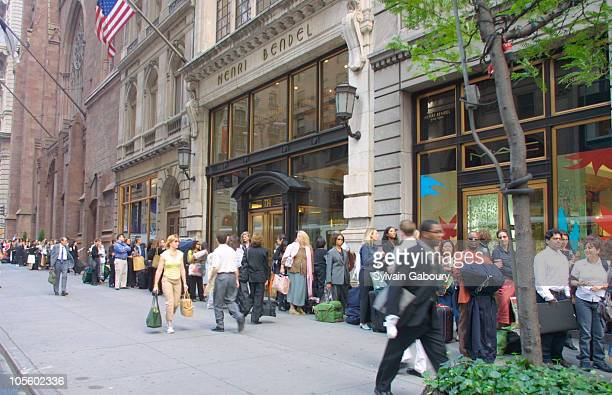 Designer Hopefuls during Henri Bendel's Designer Casting Call at Henri Bendel in New York City New York United States