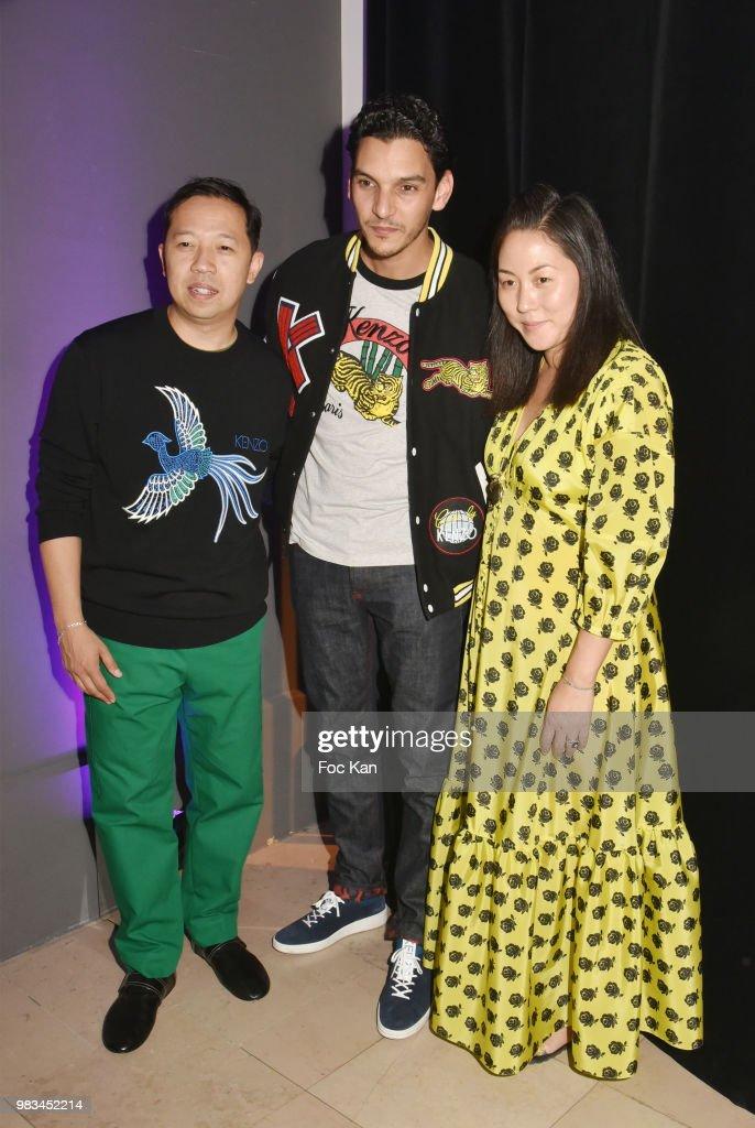 dc50a1e29c Kenzo : Front Row - Paris Fashion Week - Menswear Spring/Summer 2019 : News