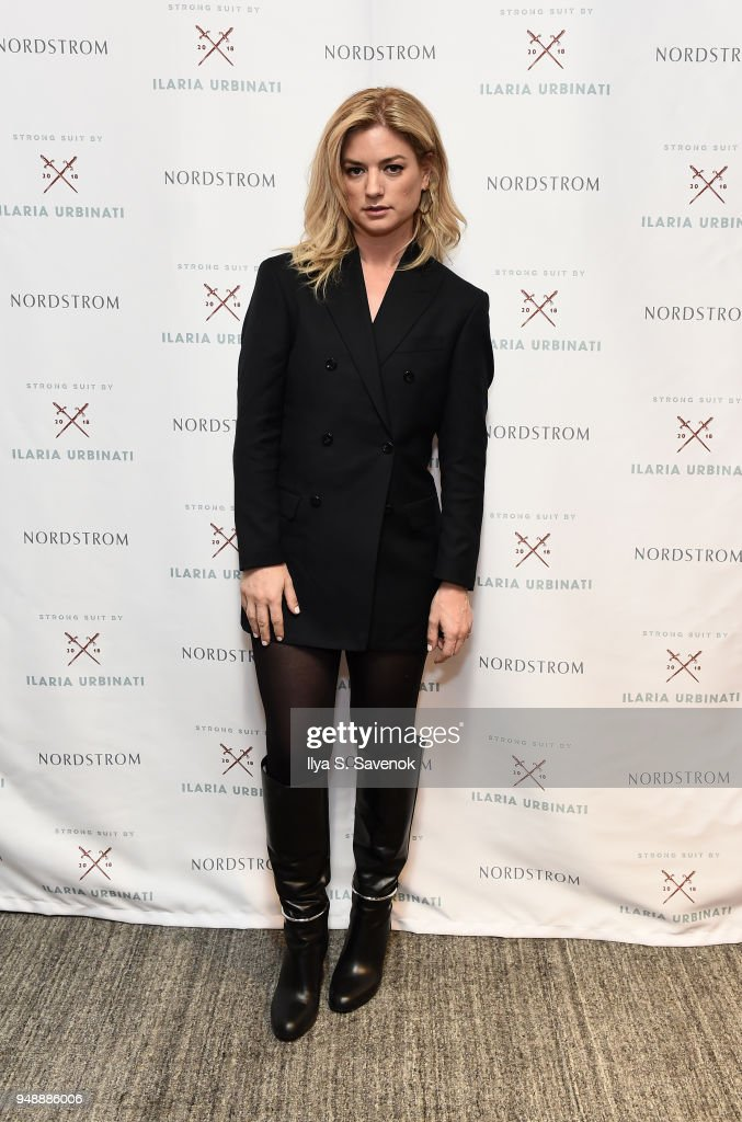 Strong Suit By Ilaria Urbinati Styling Event At Nordstrom Men's Store NYC : News Photo