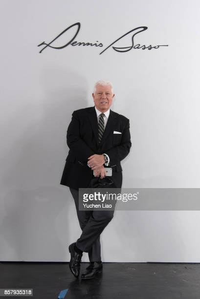 Designer in backstage for Dennis Basso for Kleinfeld Bridal show during New York Bridal Fashion Week at Kleinfeld on October 5 2017 in New York City