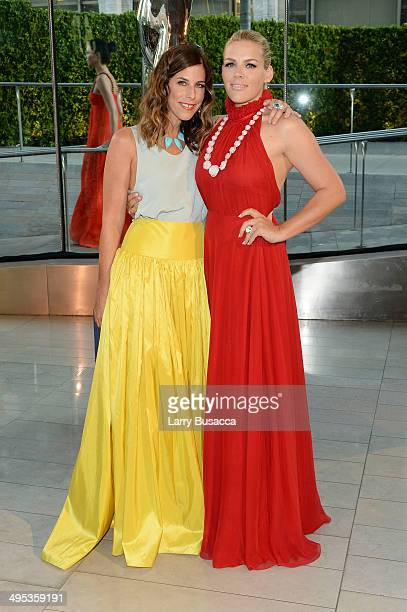 Designer Irene Neuwirth and actress Busy Philipps attend the 2014 CFDA fashion awards at Alice Tully Hall Lincoln Center on June 2 2014 in New York...