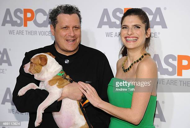 Designer Isaac Mizrahi and Lake Bell attend the ASPCA'S 18th Annual Bergh Ball honoring Edie Falco and Hilary Swank at The Plaza Hotel on April 9...