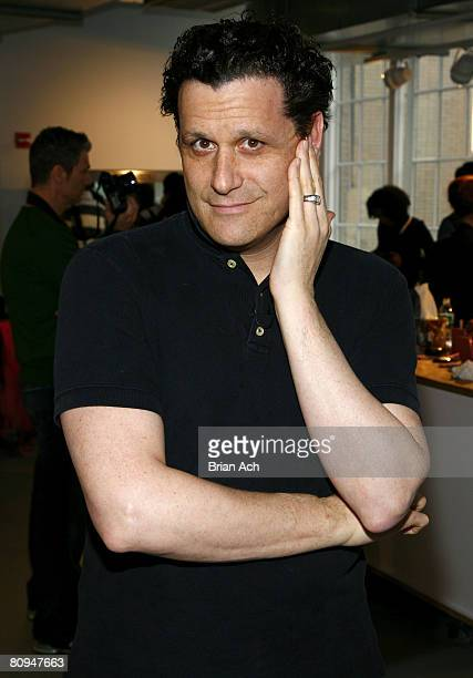 Designer Isaac Mizrahi attends Isaac Mizrahi Fall 2008 during Mercedes-Benz Fashion Week at Bryant Park on February 6, 2008 in New York City.
