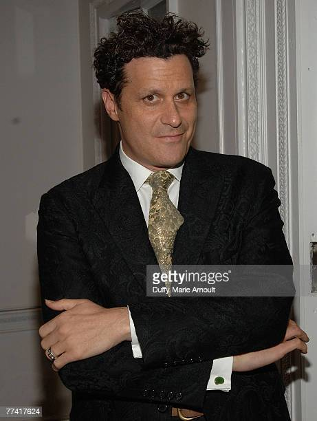 """Designer Isaac Mizrahi attends the 2007 National Design Awards Gala hosted by Euardo Xol from ABC's """"Extreme Makeover: Home Edition"""" at the..."""