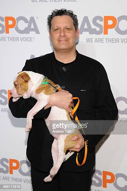 Designer Isaac Mizrahi attends the ASPCA'S 18th Annual Bergh Ball honoring Edie Falco and Hilary Swank at The Plaza Hotel on April 9 2015 in New York...