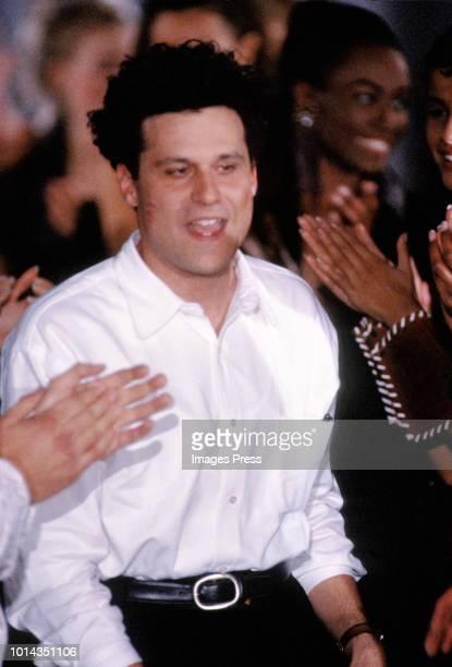 Designer Isaac Mizrahi during New York Fashion Week circa 1991 in New York