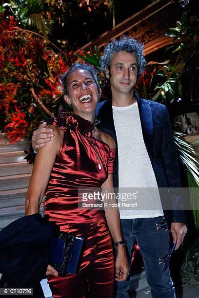 Designer Isabel Marant and her husband Jerome Dreyfuss attend the Opening Season Gala at Opera Garnier on September 24 2016 in Paris France