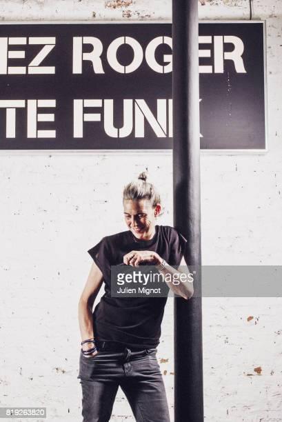 Designer Isabel Marant is photographed for Grazia France on June 1 2016 in Paris France