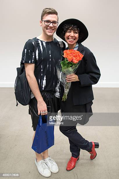 Designer Isabelle Donola attends the Isabelle Donola NYC fashion show during MercedesBenz Fashion Week Spring 2015 on September 8 2014 in New York...