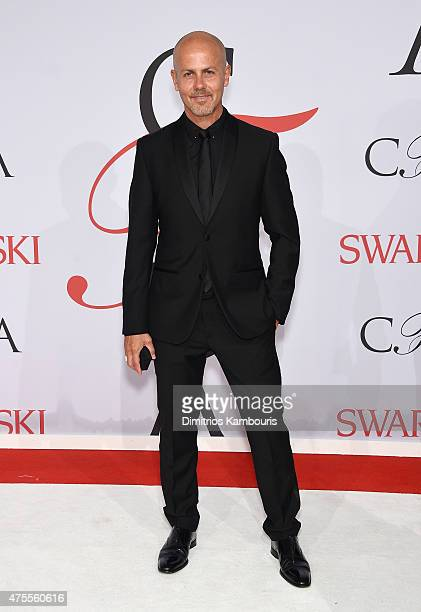 Designer Italo Zucchelli attends the 2015 CFDA Fashion Awards at Alice Tully Hall at Lincoln Center on June 1 2015 in New York City