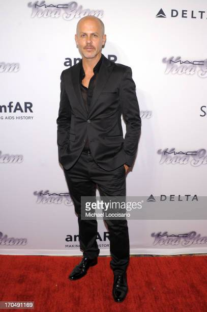 Designer Italo Zucchelli attends the 4th Annual amfAR Inspiration Gala New York at The Plaza Hotel on June 13, 2013 in New York City.