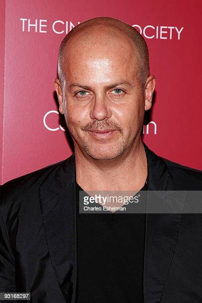 Designer Italo Zucchelli attends The Cinema Society Calvin Klein screening of Broken Embraces at the Crosby Street Hotel on November 17 2009 in New...