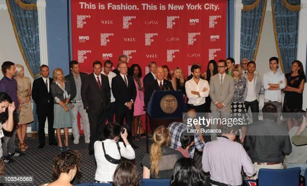 Designer Jack McCollough Bergdorf Goodman's Linda Fargo designer Francisco Costa designer Tory Burch CEO of Saks Stephen Sadove Andrew Rosen NYC...