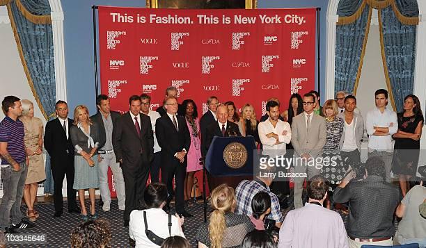 Designer Jack McCollough Bergdorf Goodman's Linda Fargo designer Francisco Costa designer Tory Burch designer Kenneth Cole CEO of Saks Stephen Sadove...