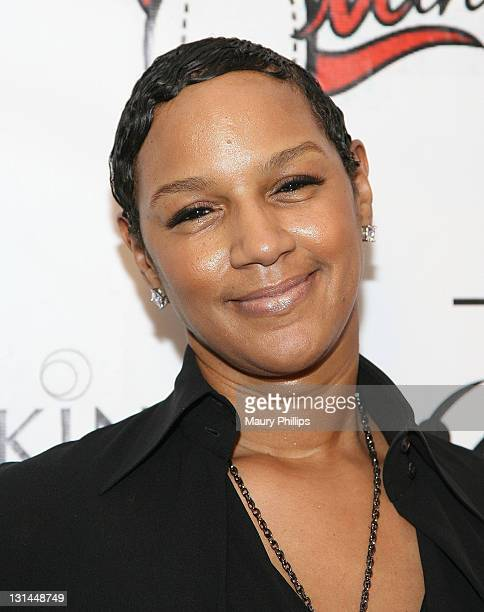 Designer Jackie Christie arrives at 2011 LA Fashion Week Fashion Minga at BOULEVARD3 on March 18 2011 in Los Angeles California