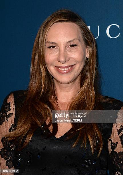 Designer Jacqui Getty attends the LACMA 2013 Art Film Gala honoring Martin Scorsese and David Hockney presented by Gucci at LACMA on November 2 2013...