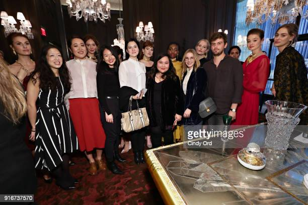 Designer Jasmine Chong attends the Jasmine Chong x GBGH Fall 2018 New York Fashion Week Presentation at Baccarat Hotel on February 10 2018 in New...