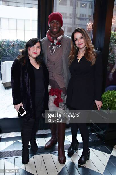 Designer Jasmine Chong J Alexander and GBGH Jewelry Designer Jackie Barbosa attend the Jasmine Chong x GBGH Fall 2018 New York Fashion Week...