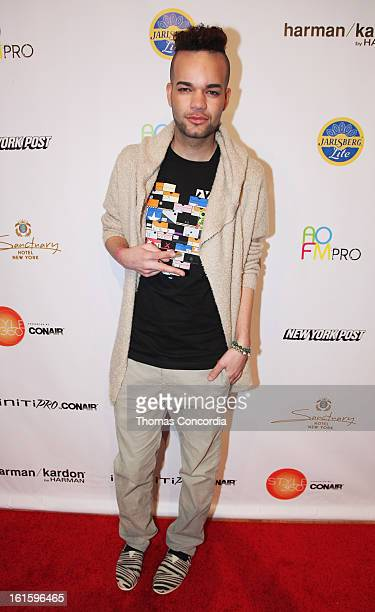 Designer Jason Christopher Peters attends the Tumbler And Tipsy By Michael Kuluva Fashion Show At CONAIR STYLE360 at STYLE360 presented by Conair...