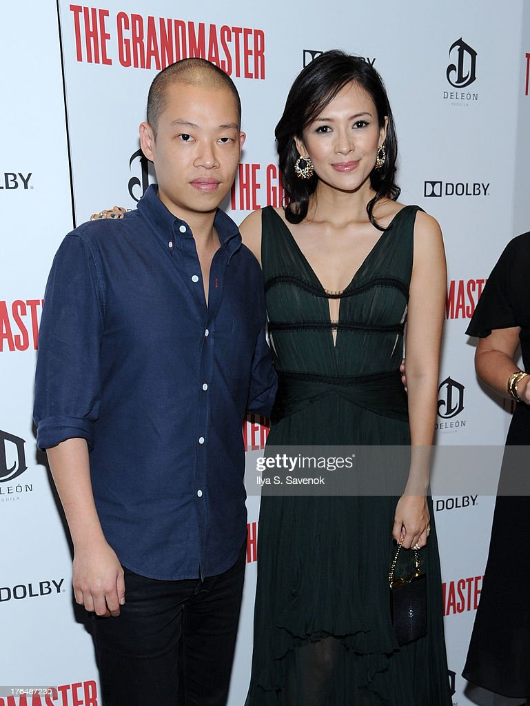 Designer Jason Wu and actress Ziyi Zhang attend 'The Grandmaster' New York Screening at Regal E-Walk Stadium 13 on August 13, 2013 in New York City.