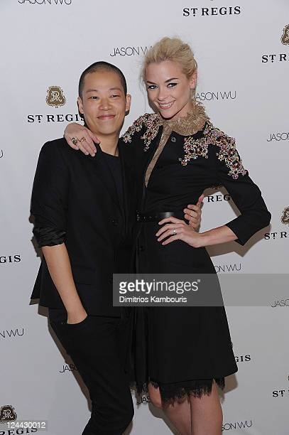 Designer Jason Wu and Jaime King attend St. Regis Hotels & Resorts Celebrates the Announcement of Jason Wu As The Next St. Regis Connoisseur and...