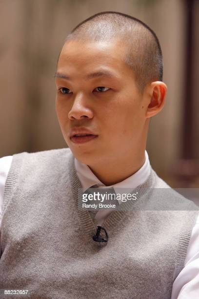 Designer Jason Wu at his Jason Wu Resort 2010 at the Greenwich Hotel on June 4 2009 in New York City