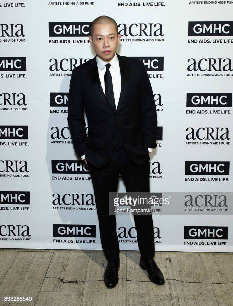 Designer Jason Wu attends ACRIA's 22nd annual holiday dinner at Cipriani 25 Broadway on December 14 2017 in New York City
